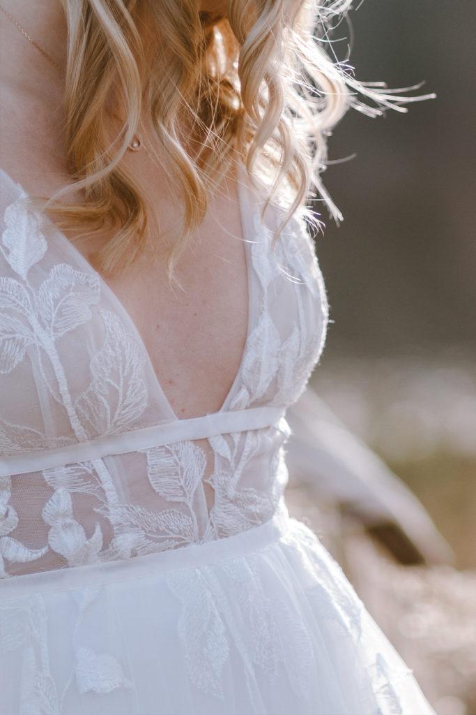 Detailbild Brautkleid